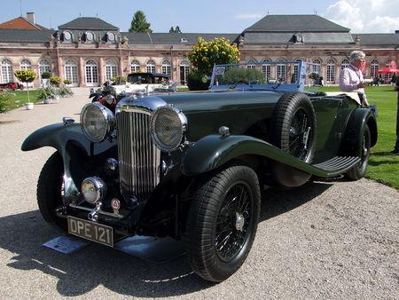LAGONDA LG45 Monte Carlo Tourer 1935 Classic Gala de Schwetzingen 2010 1