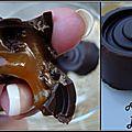 Chocolats fourrés à la crème de caramel au beurre salé