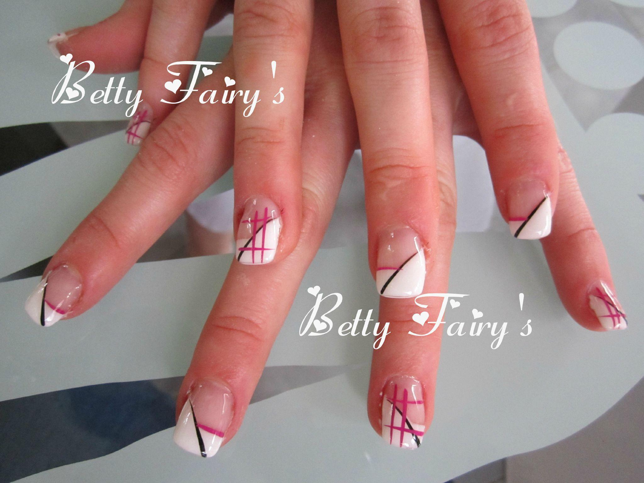 Originalit f erique jusqu 39 au bout des ongles - Ongle gel french blanche ...