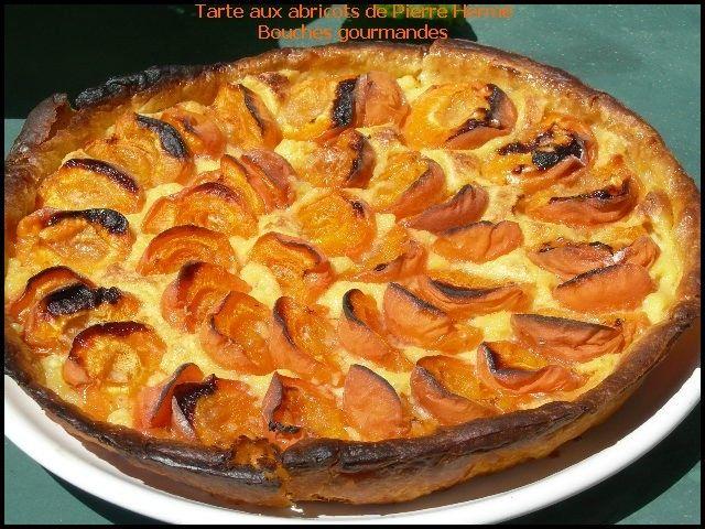 Tarte aux abricots selon Pierre Hermé