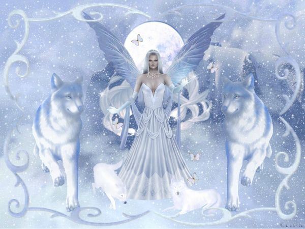 ange et loups