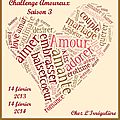 Challenge amoureux 2013