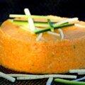 Terrine de légumes crus au gingembre