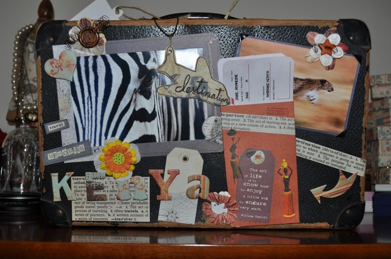 Mes Passions: le scrapbooking, le mail art, les atc, le mixed media, art