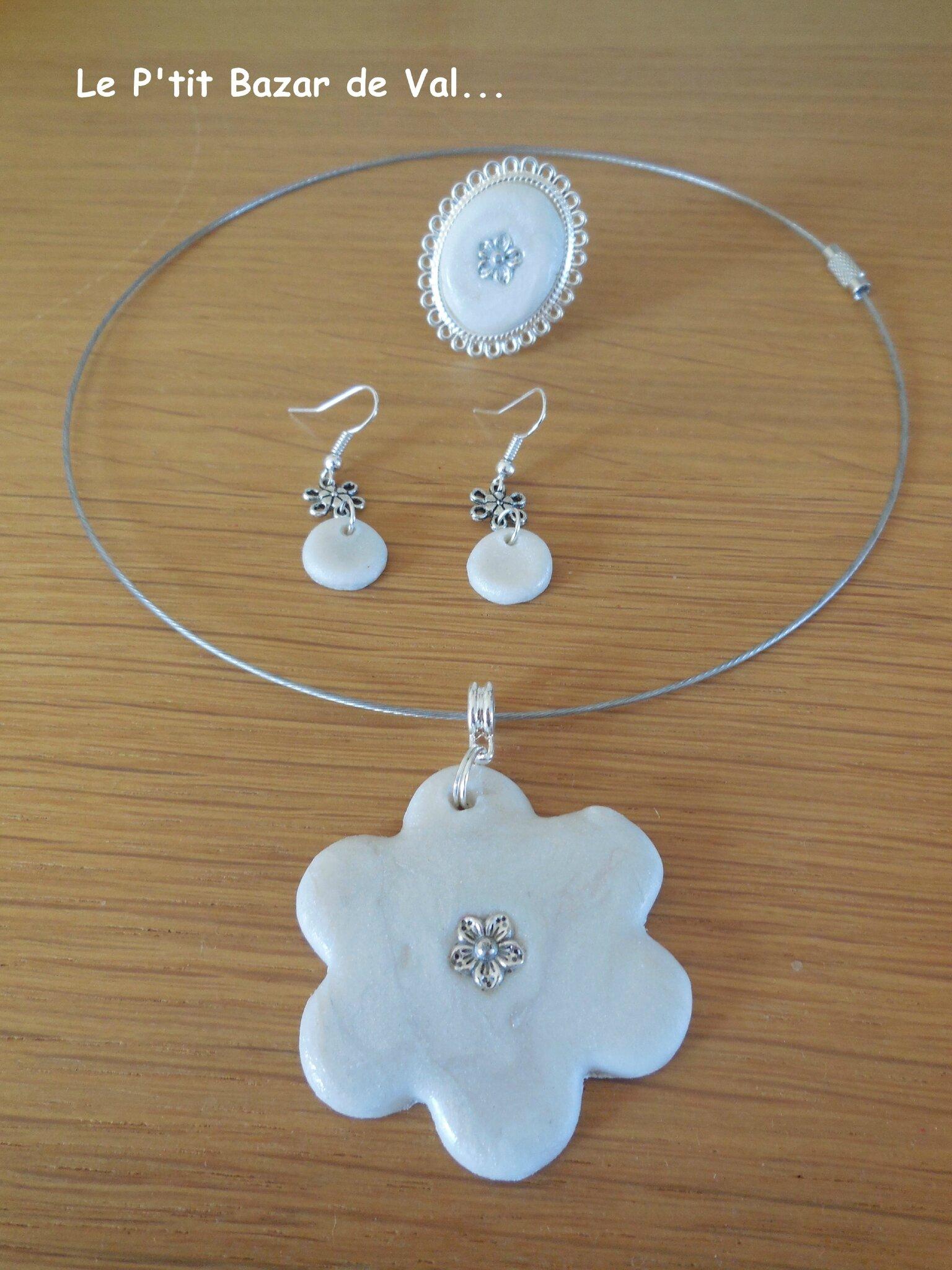 Bijoux en porcelaine froide blanc nacr le p 39 tit bazar de val etc - Bijoux paiement en plusieurs fois ...