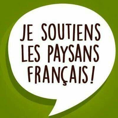 Je soutiens les agriculteurs français