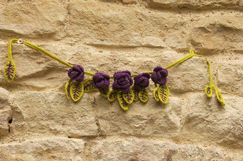 collier fleurs 00