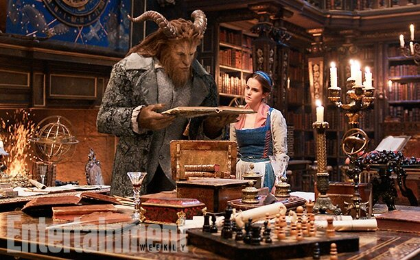 Emma Warson as Belle_Beauty & Beast movie