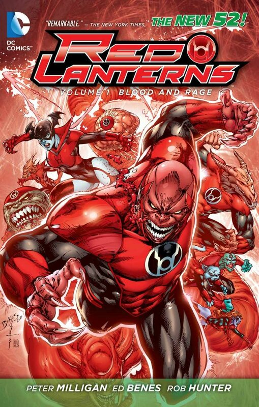 red lanterns vol 1 blood and rage TP