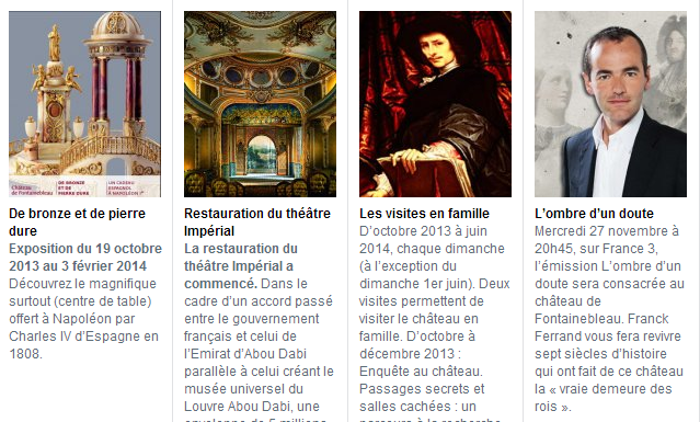 CHATEAU DE FONTAINEBLEAU - SITE OFFICIEL