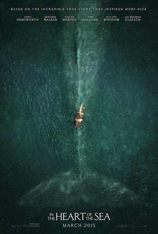 In the heart of the sea (affiche)