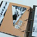 Printemps du scrap 2016 : mini album de karine cazenave tapie