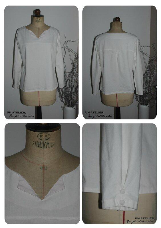chemise marinière