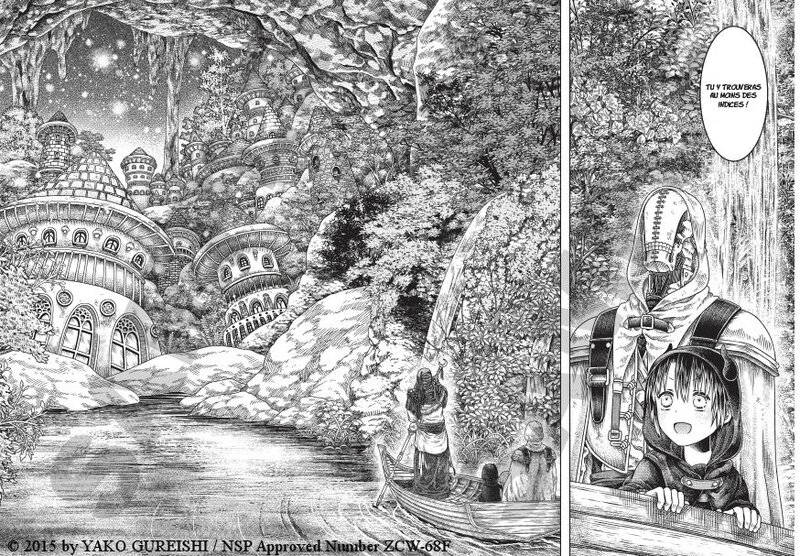 Somali et l'esprit de la forêt tome 01 komikku Yako Gureishi scan 01
