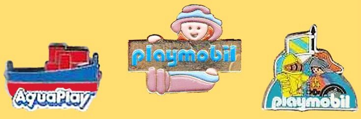 Pin's Playmobil