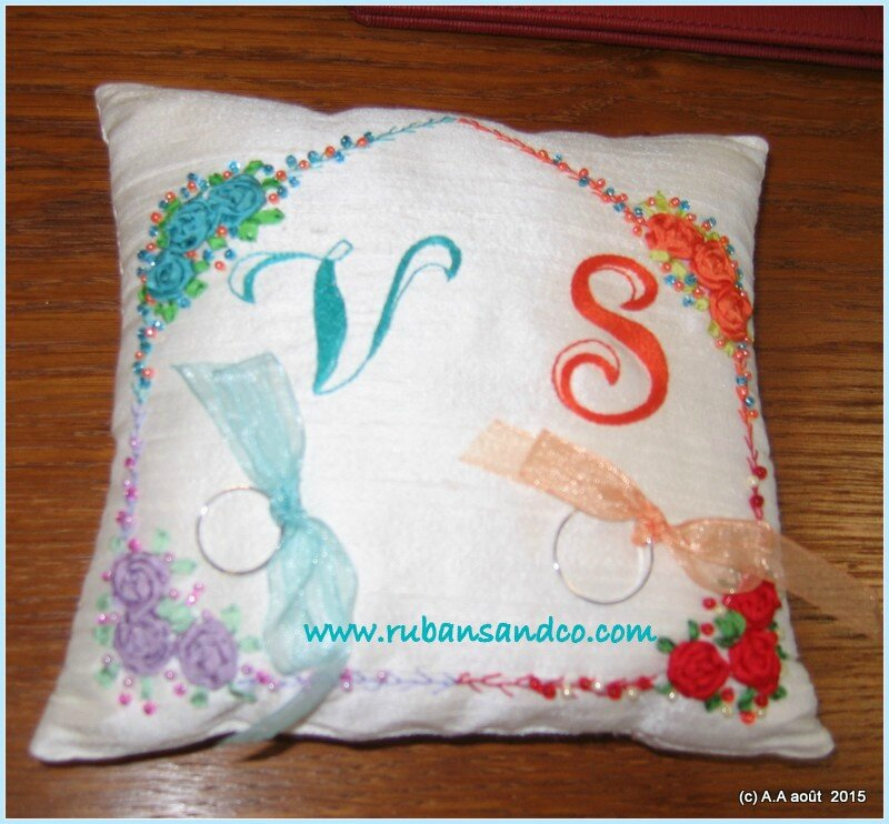coussin d'alliances