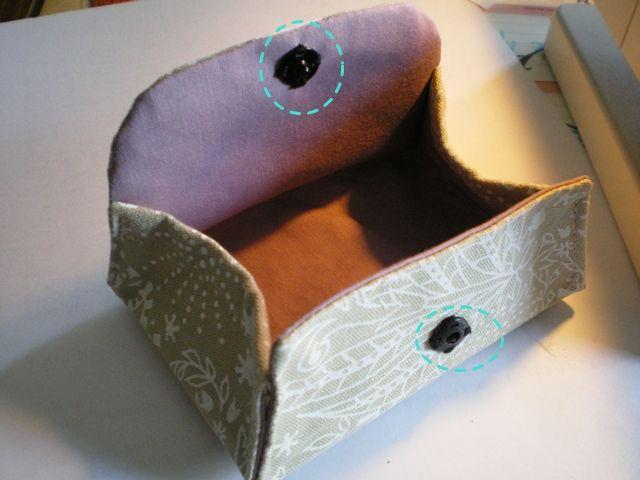 tuto en fran ais porte monnaie tamanomimi. Black Bedroom Furniture Sets. Home Design Ideas