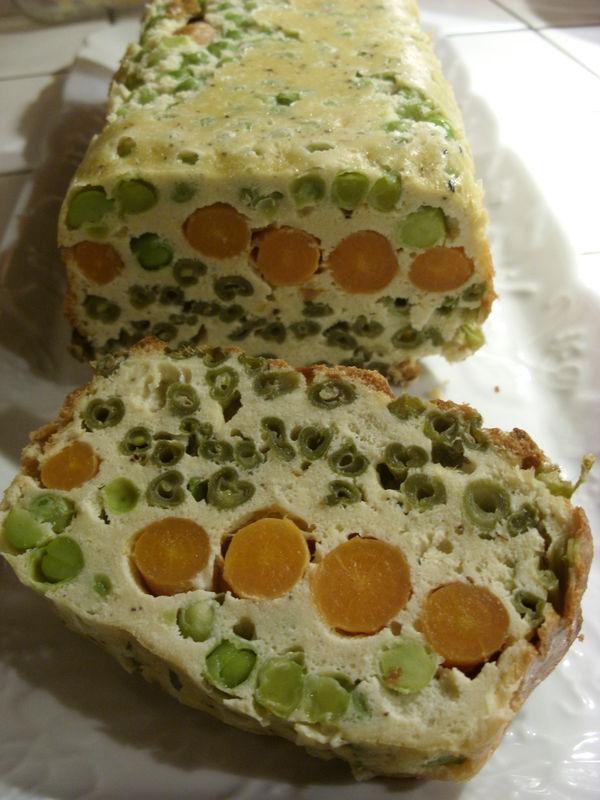 Cake Petit Pois Carotte En Boite