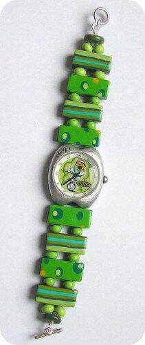 Ma montre relookée