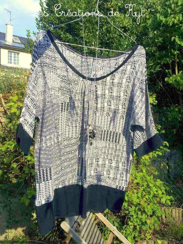 Couture variations sur haut femme (1)