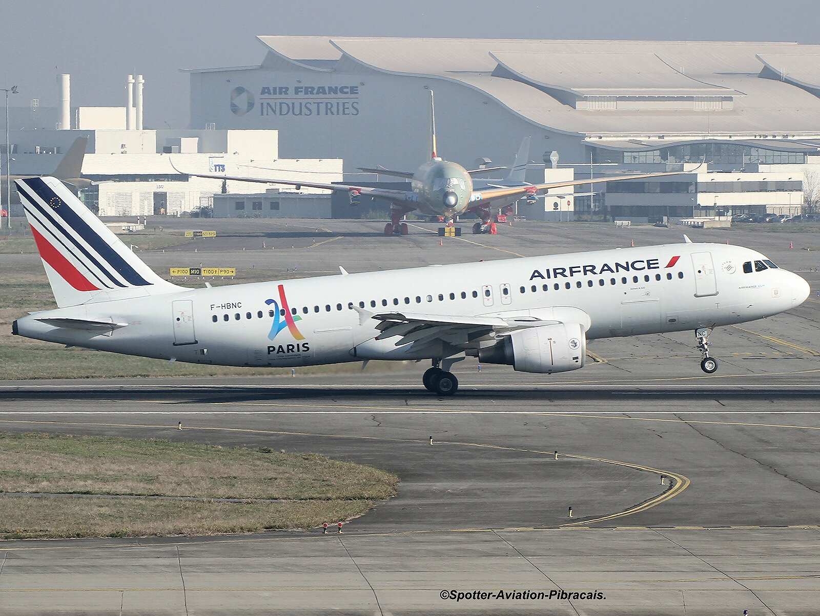A roport toulouse blagnac tls lfbo air france airbus a320 214 f hbnc msn 4601 livery - Comptoir air france toulouse ...