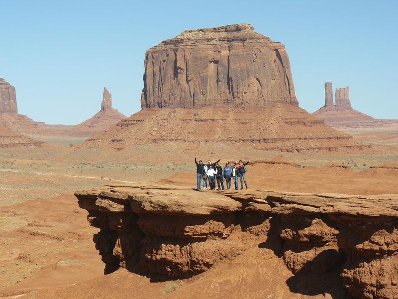 Monument Valley : Tout petit devant cet immence paysage !