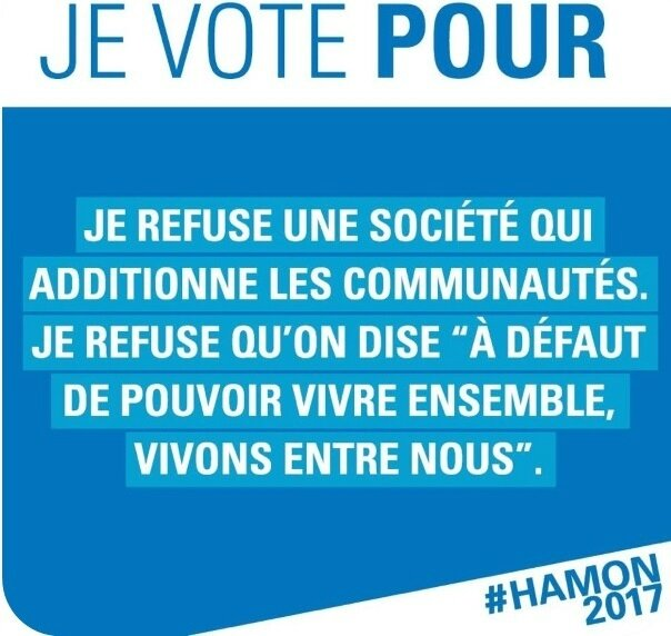 Présidentielle - Benoît Hamon