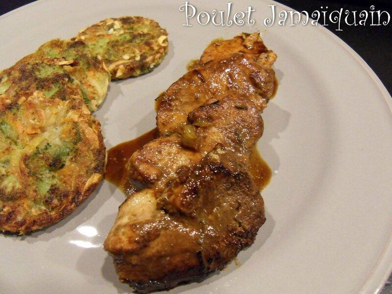 poulet Jamaiquain