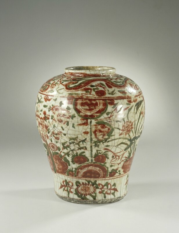 Jar, Wanli period, c