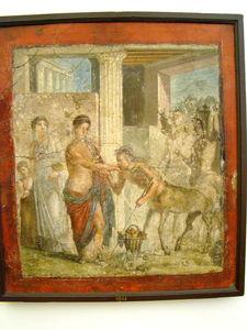 DSC02457___Maison_de_Gavius_Rufus___Les_Centaures_baisant_la_main_de_Pirithous