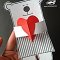 Projet créatif pour la saint valentin