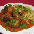 Boulettes de thon à la sicilienne d'après jamie oliver