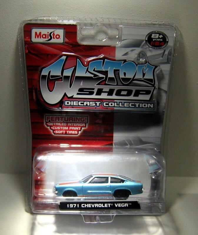 Chevrolet vega de 1971 (Maisto) 01