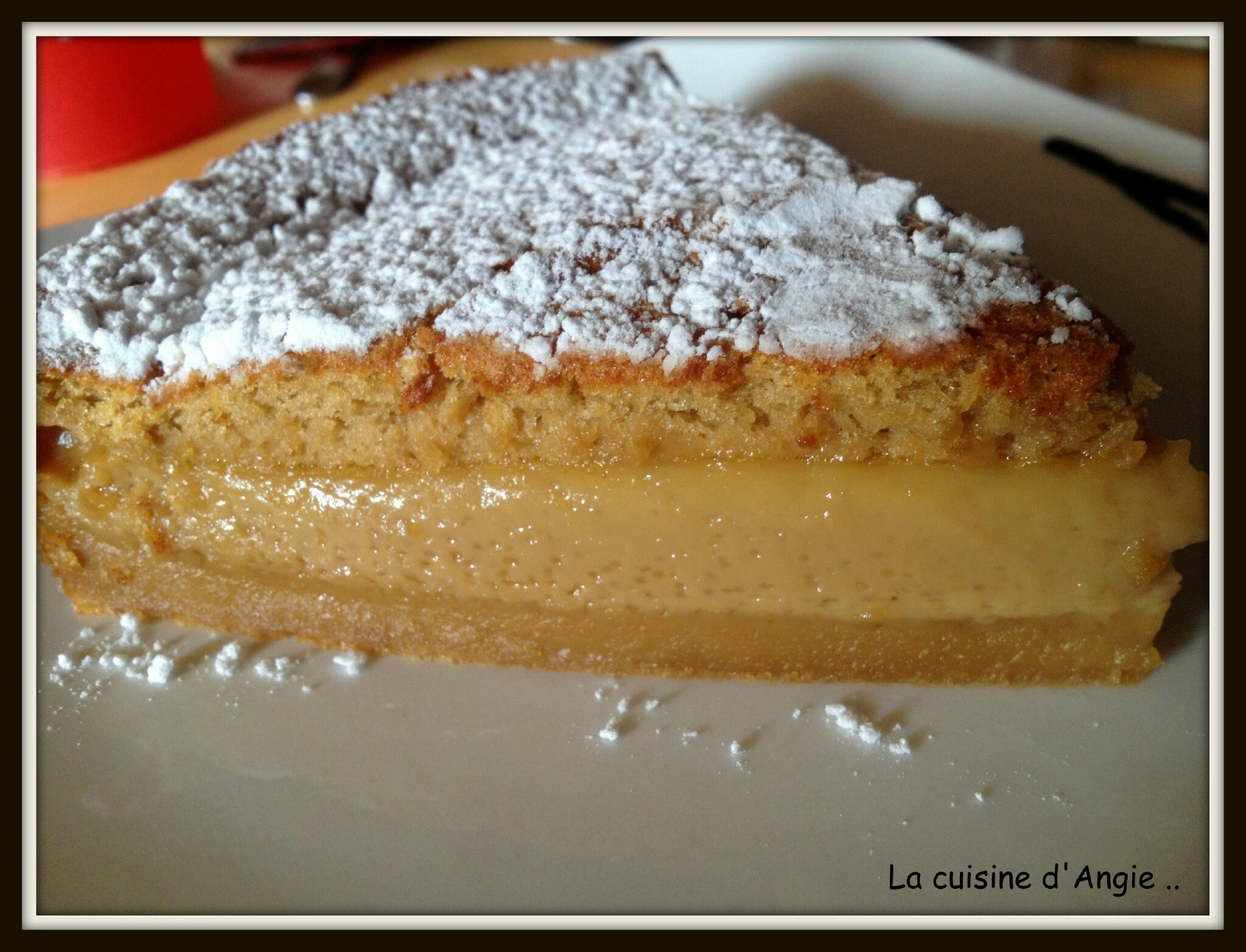 Gateau magic au speculoos