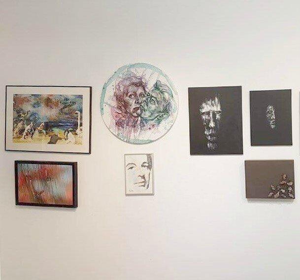 Entrée de la 5th Base Gallery London. Photo: Galerie BDMC Paris