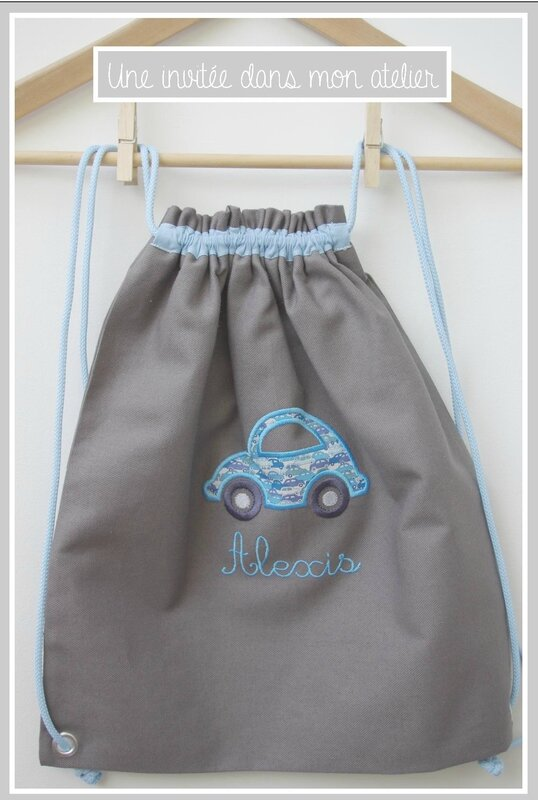 sac à dos-enfants-Liberty-cars blue