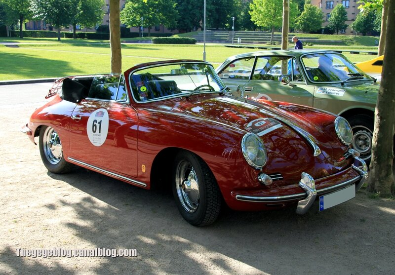 Porsche 356 B super 90 de 1962 (Paul Pietsch Classic 2014) 01