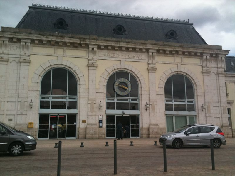 Gare auxerre for Plan d auxerre