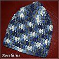 Roselaine707 Bonnet enfant crochet