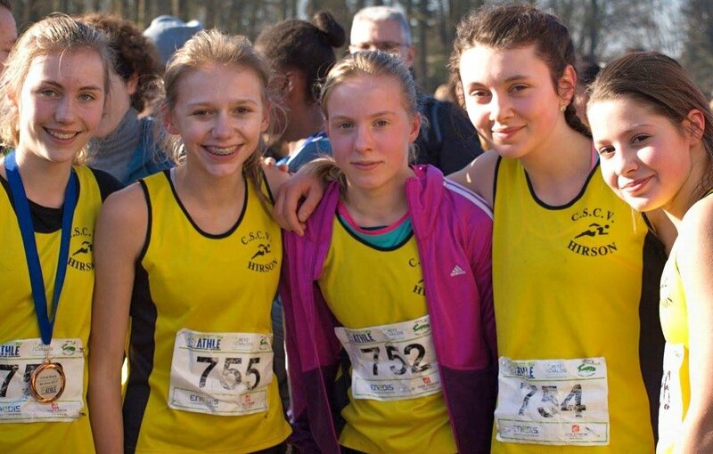 CSCVH CROSS 1_4 FINALE HAUTS DE FRANCE minimes filles