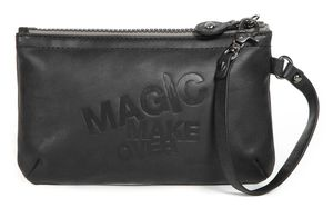 message pouch L BL black