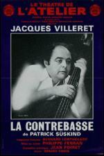 Affiche La contrebasse Jacqus Villeret
