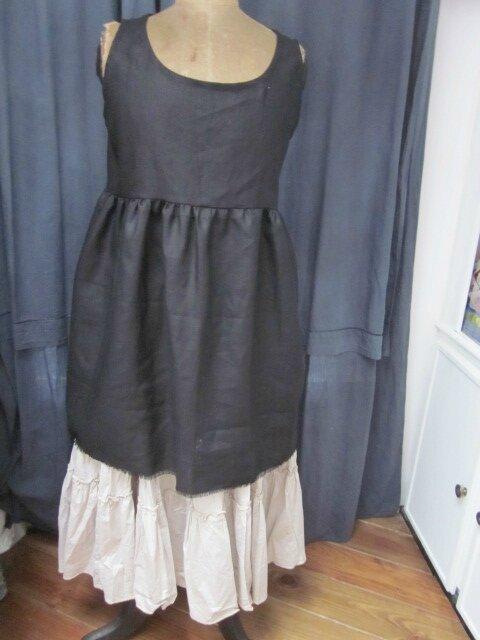 Une NOUVEAUTE pour le Vestiaire : la robe/tunique EGLANTINE