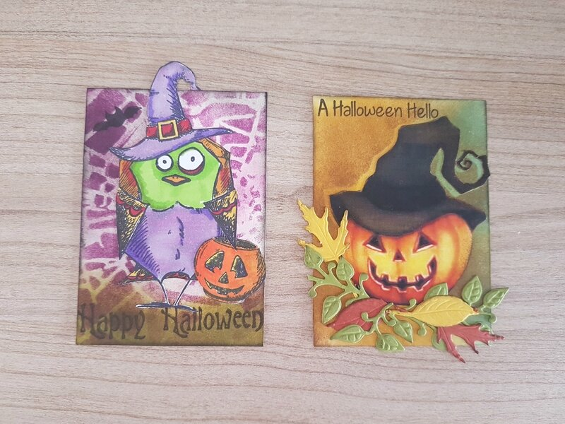 ATC Thème Halloween Bricia (Liberty scrap) Sept-Oct 17