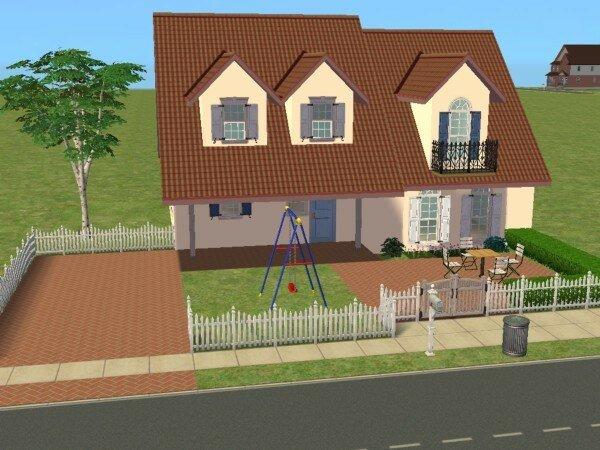 Des maisons moins de 20 000 maisons deco sims2 for Decoration maison sims 3