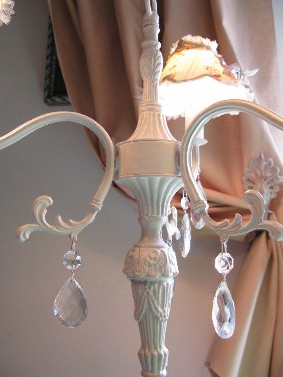 lampe chandelier abat jour Josiane 019