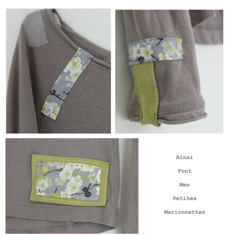 marlon verte et grise - tee shirt 2