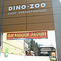 Notre chasse aux oeufs au dino zoo