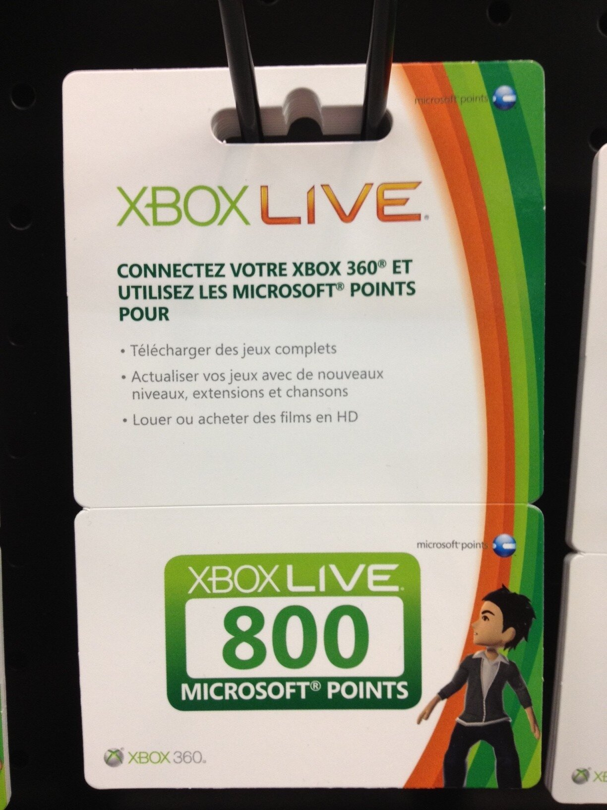 cartes pr pay es xbox live chez fnac le blog des cartes. Black Bedroom Furniture Sets. Home Design Ideas