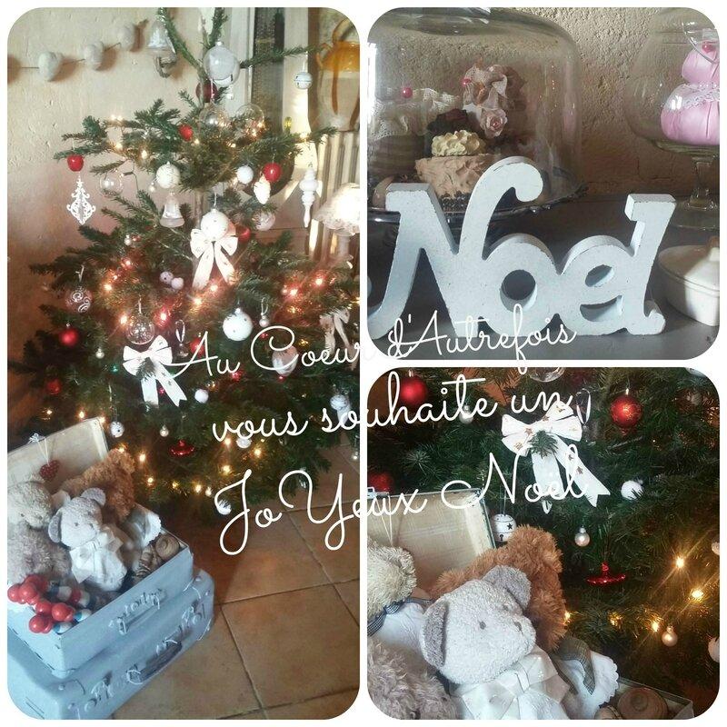 JoYeux Noël chez Au Coeur d'Autrefois